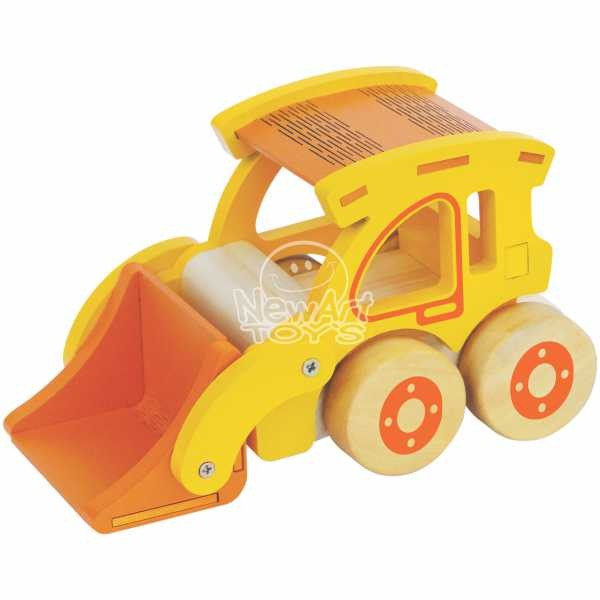 Carrinho de Madeira - Carregadeira - New Art Toys