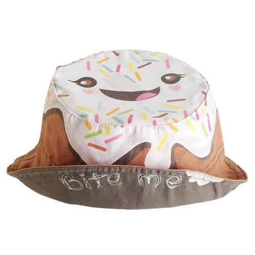Chapéu 100% algodão com estampa digital - Bite Me- Frappé - Nhooc