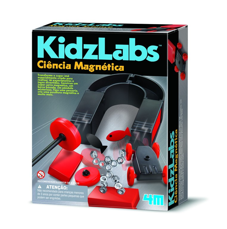 Ciência Magnética - 4M Kidz Labs