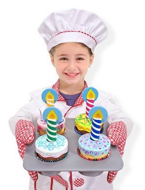 Conjunto Bolos Decorados - Cupcake - Melissa & Doug