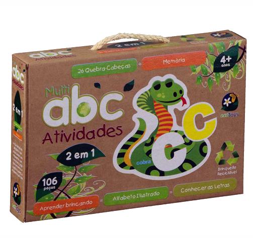 ECO Toys - ABC Atividades - Bate Bumbo