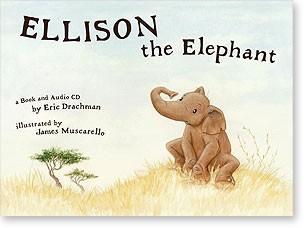 Ellison the elephant CD e livro