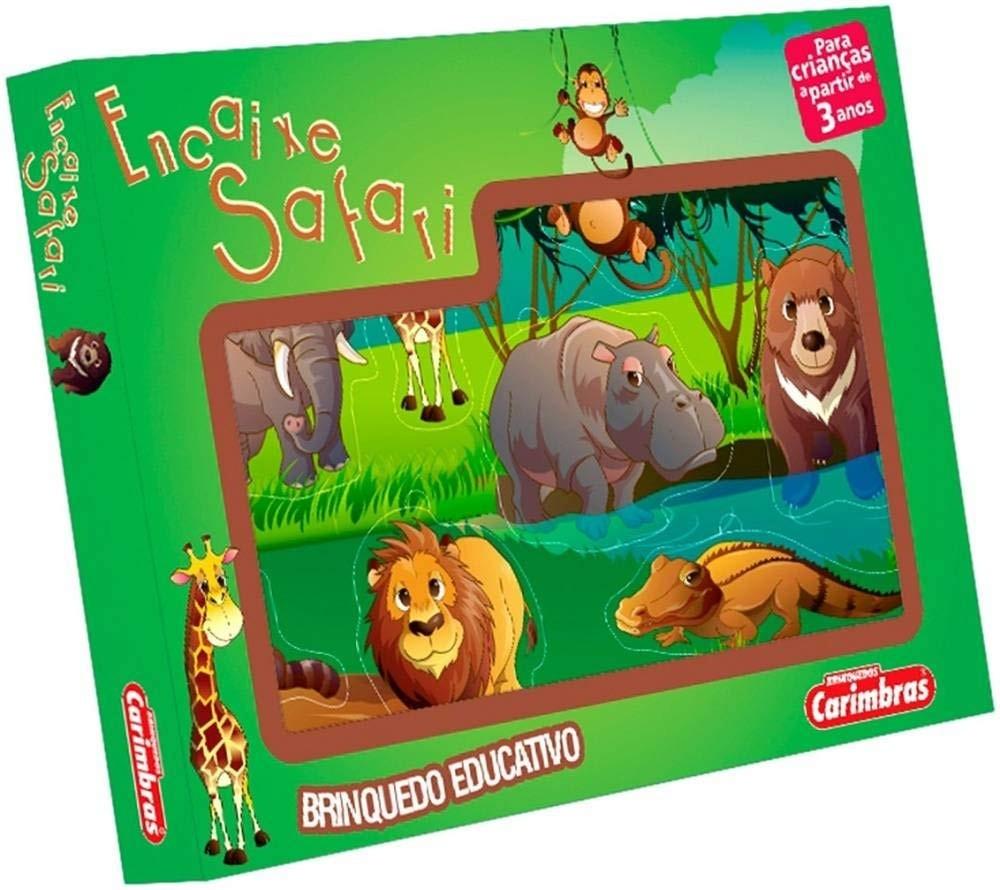 Encaixe Safari - Carimbras