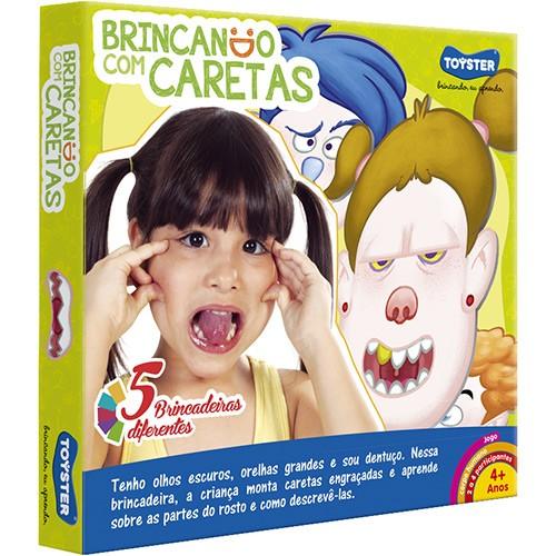 Jogo Educativo Brincando com Caretas - Toyster