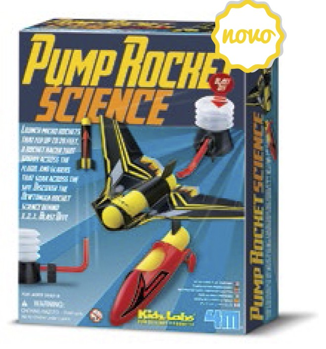 Kit Lança Foguetes - Pump Rocket Science - 4M