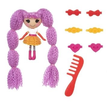 Boneca Mini Lalaloopsy - Loopy Hair - Peanut Big  - Buba