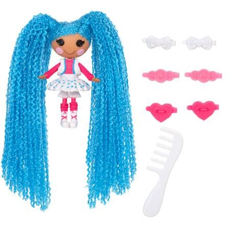 Boneca Mini Lalaloopsy - Loopy Hair - Mittens Fluff N Stuff - Buba