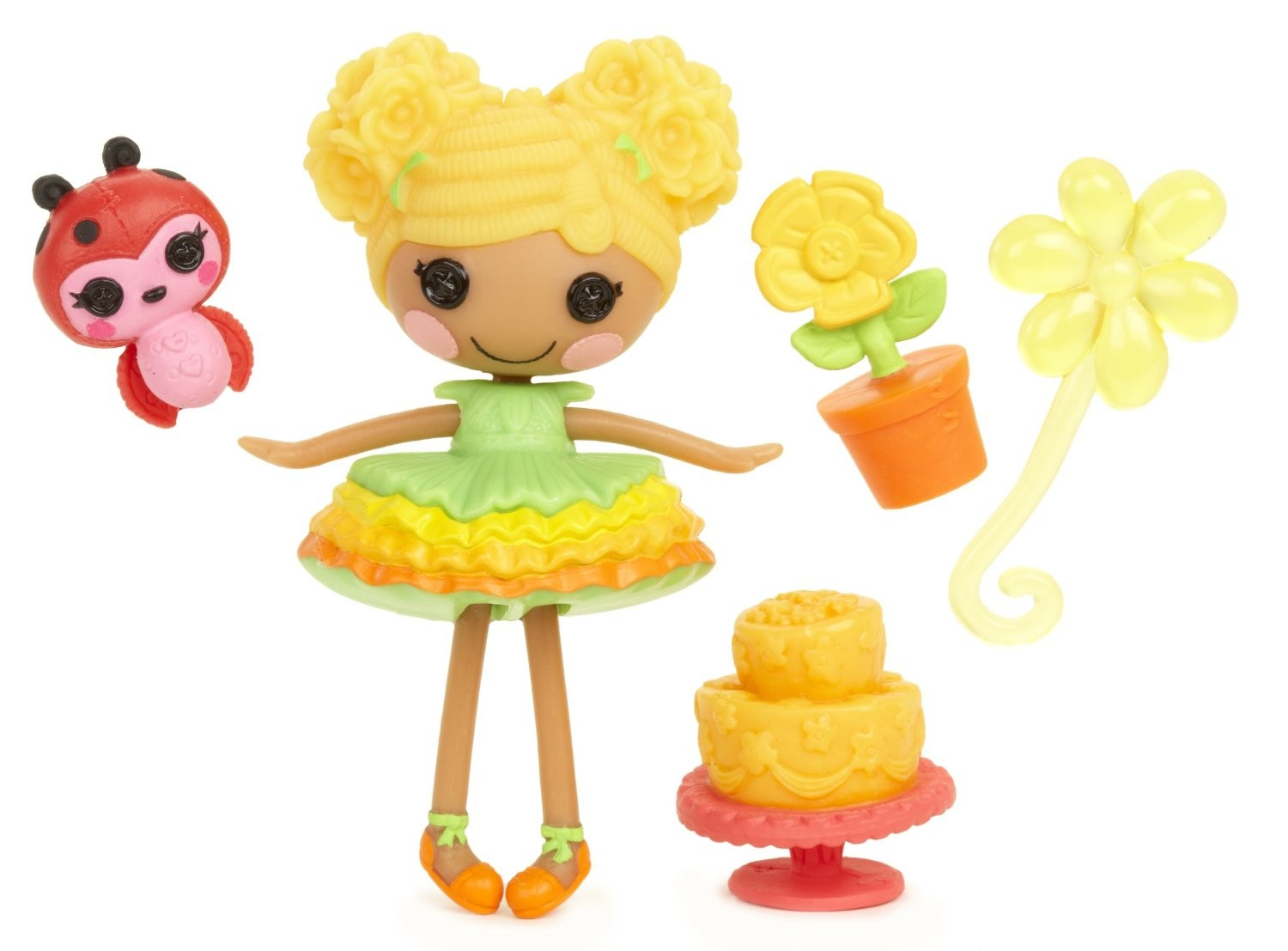Mini Lalaloopsy Mari Golden Petals