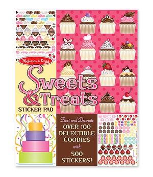 Livro de Adesivos - Cupcakes e Cookies - Melissa & Doug