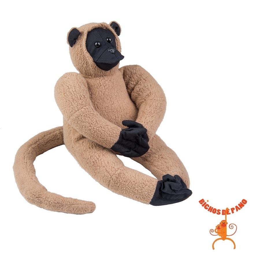 Macaco Muriqui Filhote - Animais de Pelúcia - Bichos de pano