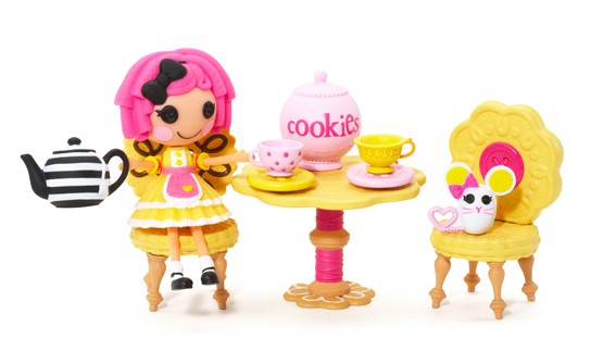 Mini Lalaloopsy - Crumb´s tea party