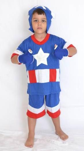 Pijama Capitão América - 4 anos - Lé com Cré
