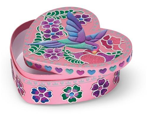 Decore seu Porta Jóias de coração - Melissa & Doug