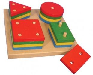 Prancha de Seleção - 16 peças - Simque