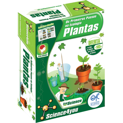 Primeiros passos na Ecologia - Plantas - Science4you