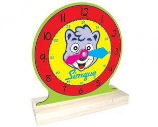 Relógio - Aprendendo a ver as horas - Simque
