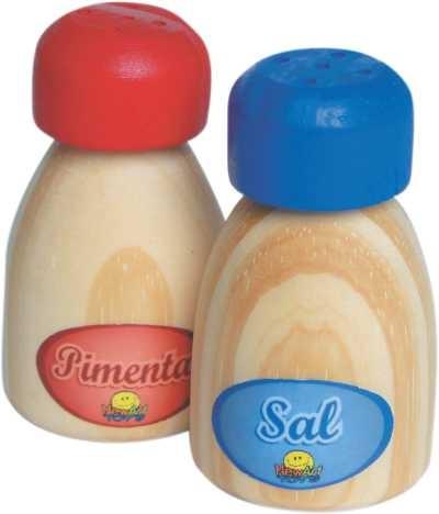 Sal e Pimenta - Coleção Comidinhas - New Art Toys
