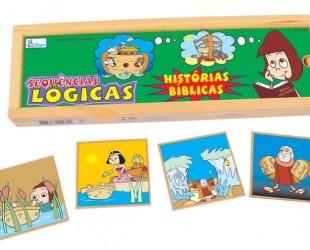 Brinquedo Religioso - Sequência Logica - Histórias Bíblicas - Simque