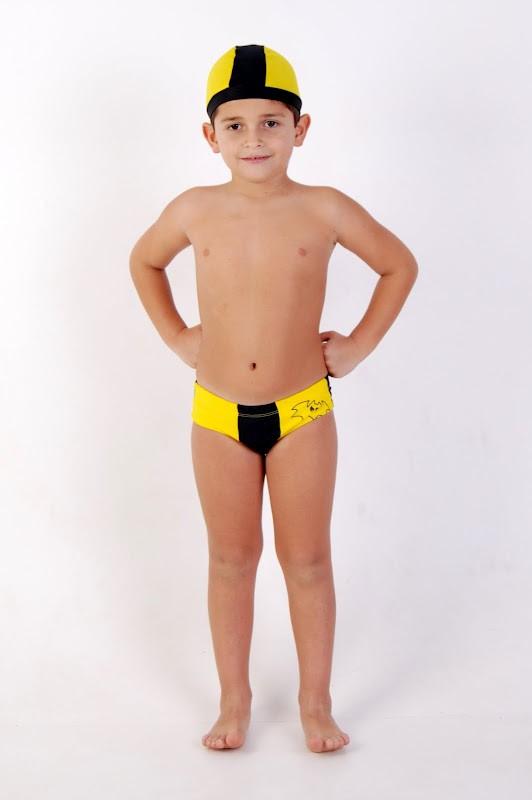 Sunga Super-Herói Preto Amarelo, Batman - Tamanho P, 2 anos - Lé com Cré