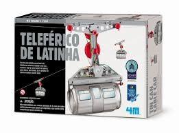 Teleférico de Latinha - brinquedo educativo - 4M