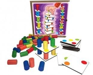 Jogo Torre Inteligente - Brinquedo Educativo - Simque