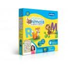 Quebra-cabeça Educativo Alfabeto dos Animais - 60 peças - Quadrão - Toyster