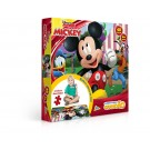 Quebra-cabeça Grandão Mickey - 48 peças - Toyster Jak