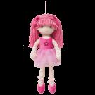 Boneca de Pano Bailarina Sweet Rosa - Buba