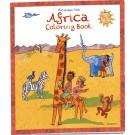 Livro para colorir Africa - Putumayo