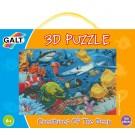 Quebra-Cabeça 3D - Fundo Do Mar - Galt