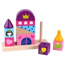 Blocos de Encaixe Castelo - Brinquedo de madeira - Tooky Toy