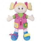Boneca Aprendendo a Vestir - Girl - Buba