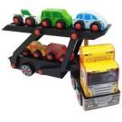 Brinquedo Caminhão Cegonha de Madeira Carimbras