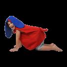 Fantasia Cachorro - Tamanho P - Bichos de pano