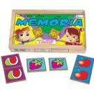 Jogo da memória - Frutas e Legumes - Simque