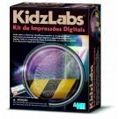 Detetive Kit de Impressões Digitais -  4M Kids Labz