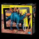 Kit de escavação  Estegossauro Dino DNA realidade virtual 4M
