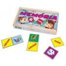 Memória Alfabetização - Jogo Educativo de madeira - Simque