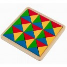 Mosaico Triângulo - Brinquedo Educativo - Carlu