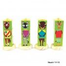Coleção Cubos Animais - Verde - New Art Toys