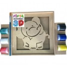 Pinta Quadrinhos 3D - Elefante - Bate Bumbo