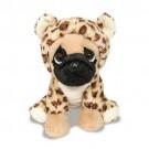 Cachorro Pug com roupa de Onçinha - Pug Onçinha - Buba