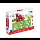 Quebra Cabeça Gigante contando até 5 - Brinquedo Educativo - Babebi