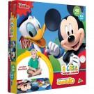 Quebra cabeca Grandão - A casa do Mickey - 48 peças