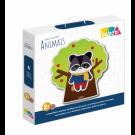 Quebra Cabeça Mix Animais - Brinquedo Educativo - Babebi