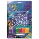 Arte em Cristal Golfinho - 4M