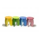 Coleção Móveis - Banqueta Azul - New Art Toys